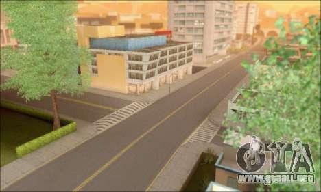 Calles vacías (Screenshots) para GTA San Andreas sucesivamente de pantalla