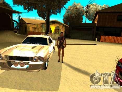 Ford Shelby GT-500E Eleanor para el motor de GTA San Andreas