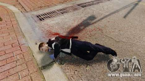 Sangre y barras para GTA 4 segundos de pantalla