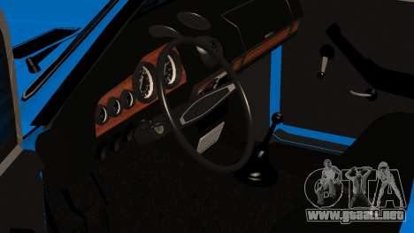 2106 Vaz para GTA San Andreas vista hacia atrás
