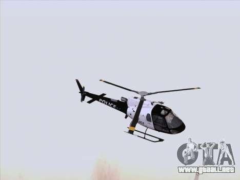 Police Maverick GTA 5 para GTA San Andreas left