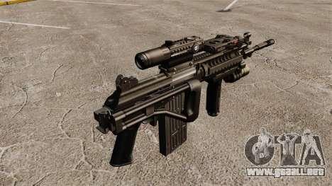 Fusil automático Galil para GTA 4 segundos de pantalla
