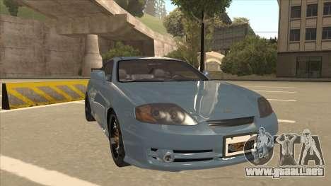 Hyundai Coupe V6 Soft Tuned v1 para GTA San Andreas left