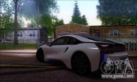 BMW I8 para GTA San Andreas left
