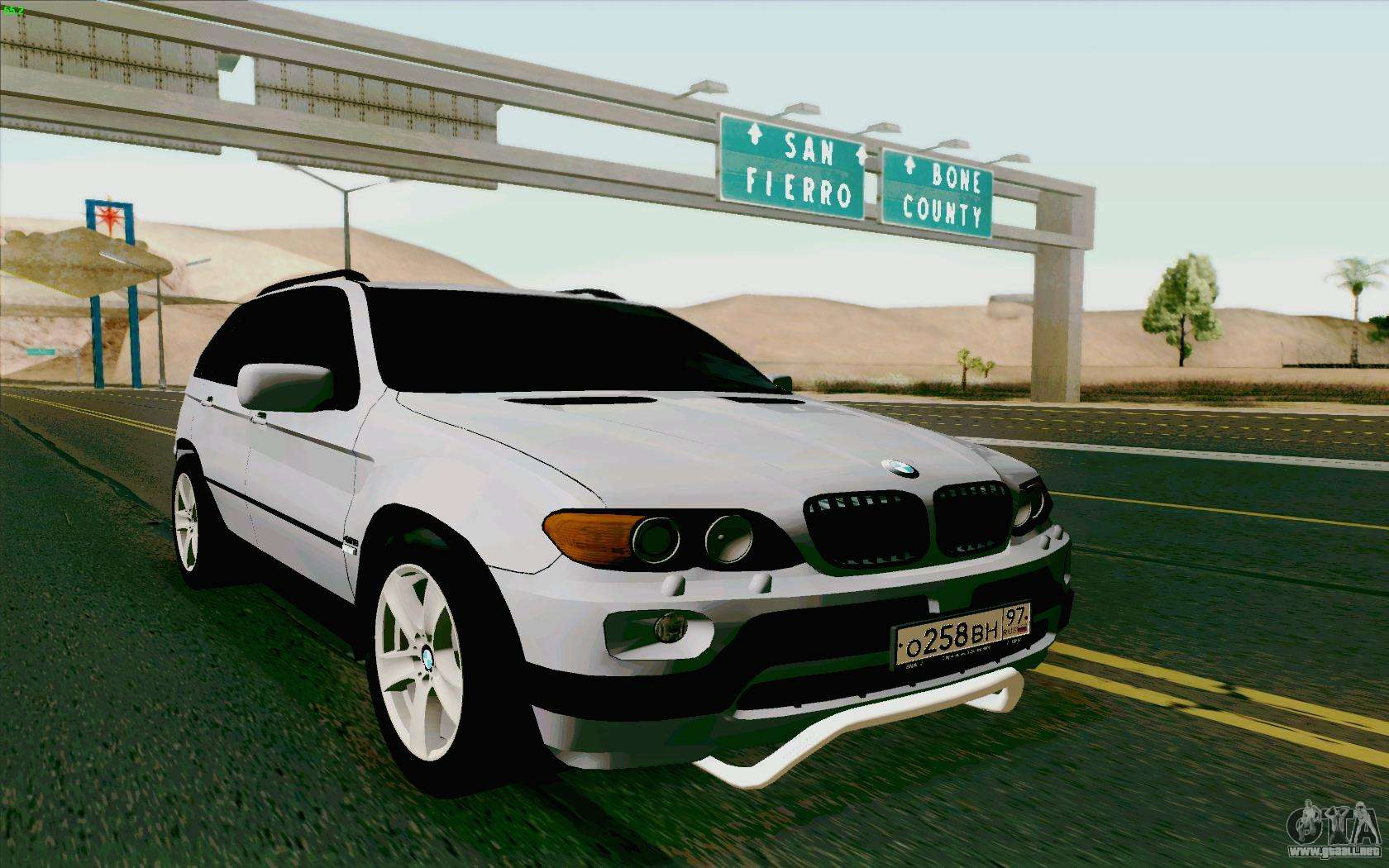 bmw x5 do gta sa