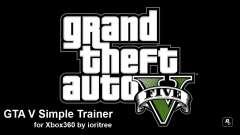 GTA 5 simple trainer by ioritree