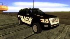 Ford Explorer 2010 Police Interceptor para GTA San Andreas
