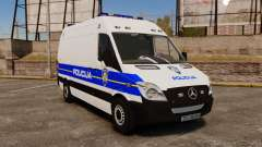 Mercedes-Benz Sprinter Croatian Police v2 [ELS] para GTA 4