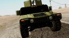 Humvee Serbian Army para GTA San Andreas