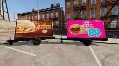 La nueva publicidad sobre ruedas para GTA 4