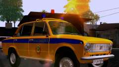 VAZ 21011 policía para GTA San Andreas