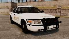 GTA V sheriff car [ELS] para GTA 4