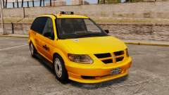 Dodge Grand Caravan 2005 Taxi NYC para GTA 4