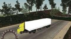 Remolque NEFAZ 93344 nieve para GTA San Andreas