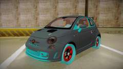 Abarth 500 Esseesse 2010 para GTA San Andreas