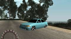 VAZ 2110 sedán para GTA San Andreas