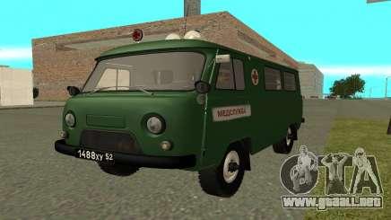 Ambulancia UAZ 452 para GTA San Andreas