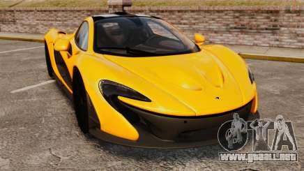 McLaren P1 2013 para GTA 4