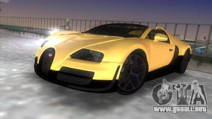 Bugatti Veyron Grand Sport Vitesse para GTA Vice City