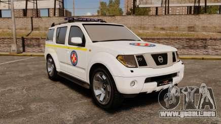 Nissan Pathfinder HGSS [ELS] para GTA 4