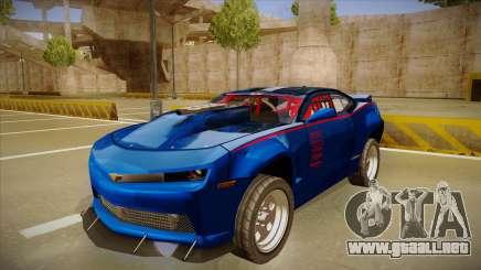 Chevrolet Camaro ZL1 Elite para GTA San Andreas