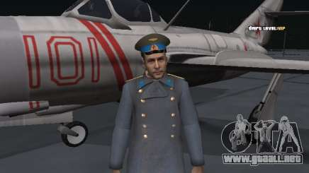 General del coronel de la fuerza aérea soviética para GTA San Andreas