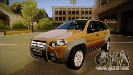 FIAT Palio Weekend Adventure Locker 2010 para GTA San Andreas