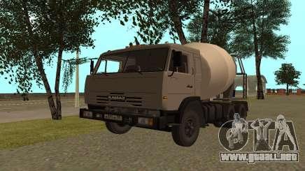 Camiones KAMAZ 53115 para GTA San Andreas