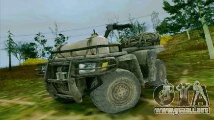 ATV de la medalla de Honor para GTA San Andreas