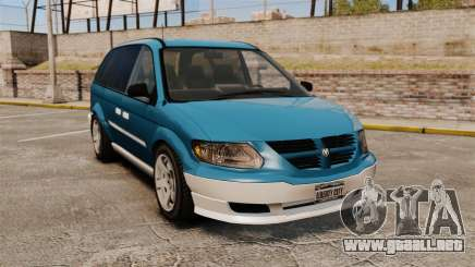 Dodge Grand Caravan 2005 para GTA 4