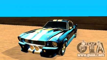 Ford Shelby GT-500E Eleanor para GTA San Andreas