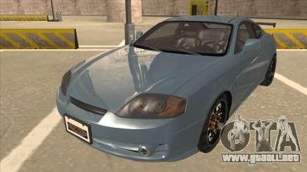 Hyundai Coupe V6 Soft Tuned v1 para GTA San Andreas
