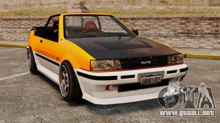 Versión convertible del Futo para GTA 4