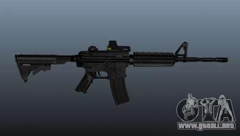 Automático carabina M4A1 táctico para GTA 4 tercera pantalla