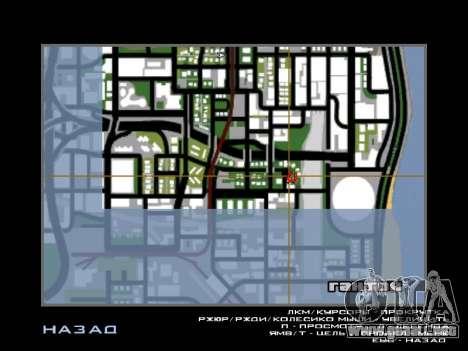 Nueva campana e iconos en el mapa para GTA San Andreas sucesivamente de pantalla