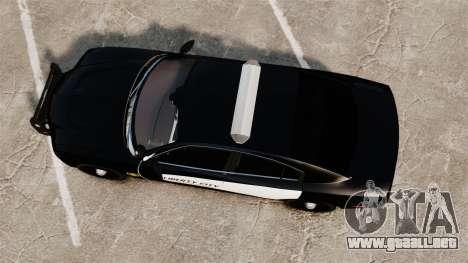 Dodge Charger 2013 LCPD STL-K Force [ELS] para GTA 4 visión correcta