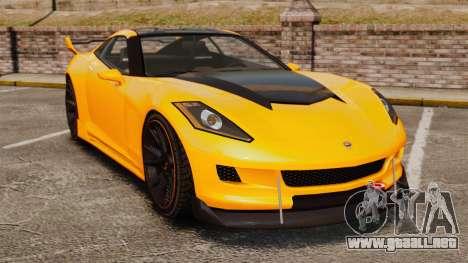 GTA V Inuetero Coquette Hardtop DTD para GTA 4