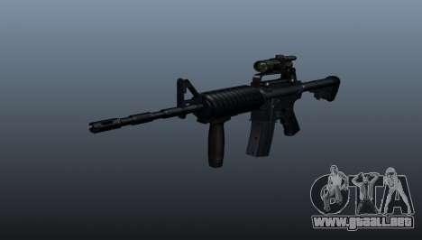 Automático carabina M4A1 Grip para GTA 4