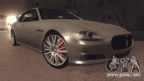 Maserati Quattroporte 2012 para GTA San Andreas