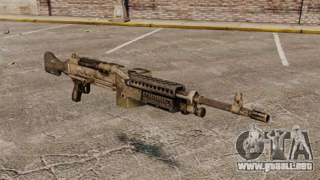 Ametralladora de propósito general M240B para GTA 4