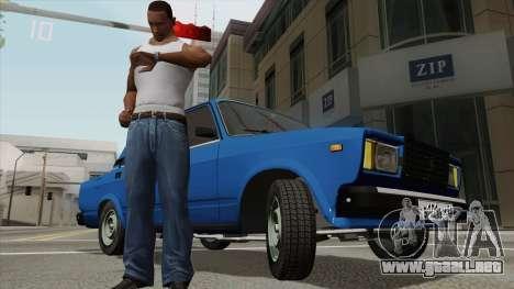 Ver el tiempo en un reloj de pulsera para GTA San Andreas tercera pantalla