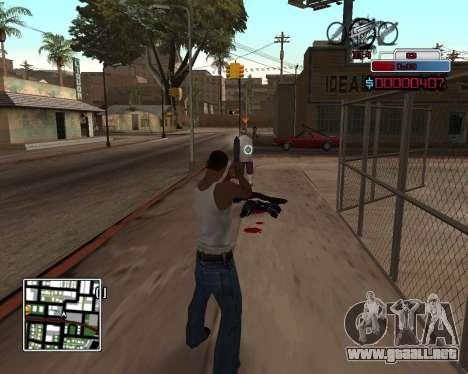 C-HUD by Braun para GTA San Andreas segunda pantalla