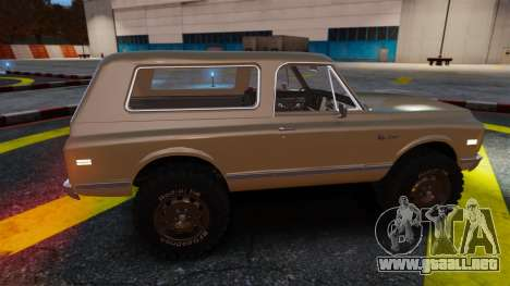 Chevrolet Blazer K5 1972 para GTA 4 interior