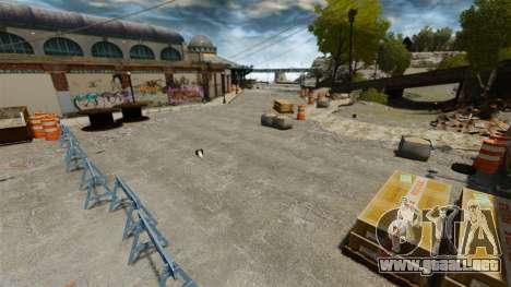 Pista de Supermoto para GTA 4 séptima pantalla