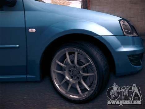 Dacia Logan GrayEdit para la visión correcta GTA San Andreas