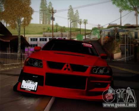 Mitsubishi Evolution VIII para GTA San Andreas
