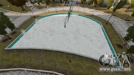 Agua congelada para GTA 4 quinta pantalla