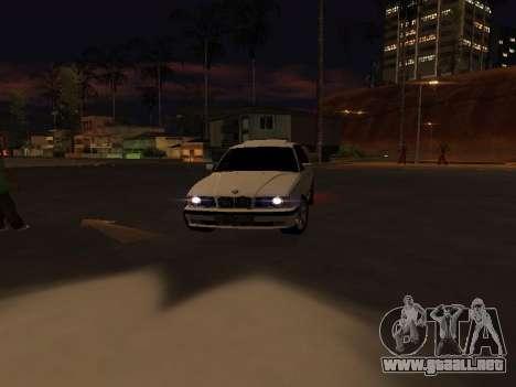 BMW 525 E34 para visión interna GTA San Andreas