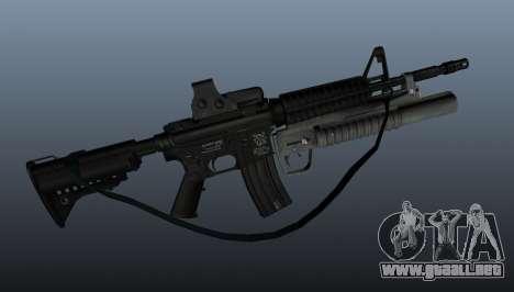 Automático carabina M4A1 v3 para GTA 4 tercera pantalla