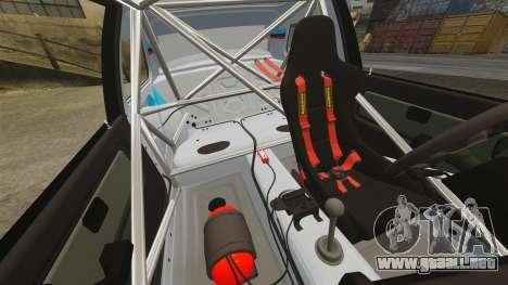 BMW M3 1990 Race version para GTA 4 vista superior